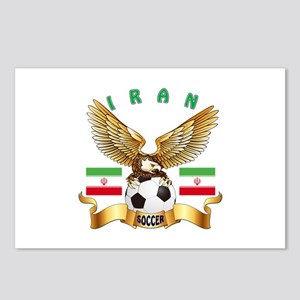 Iran Football Design Postcards (Package of 8)