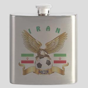 Iran Football Design Flask