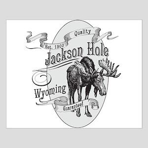 Jackson Hole Vintage Moose Small Poster