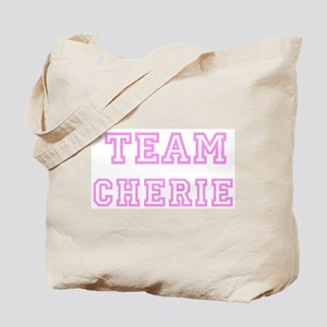 Pink team Cherie Tote Bag