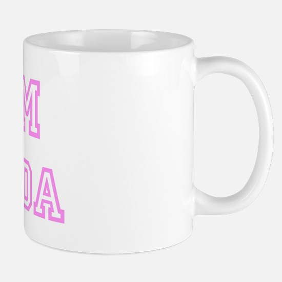 Pink team Amanda Mug