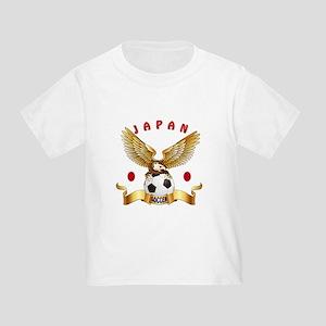 Japan Football Design Toddler T-Shirt