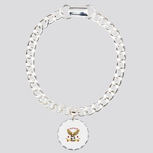 Japan Football Design Charm Bracelet, One Charm