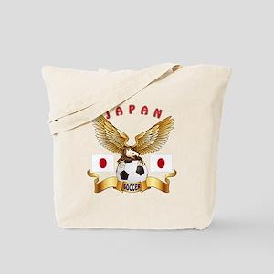 Japan Football Design Tote Bag