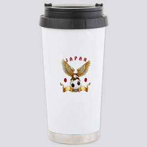 Japan Football Design Stainless Steel Travel Mug