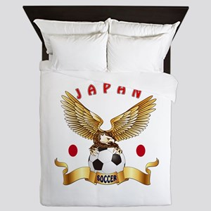 Japan Football Design Queen Duvet