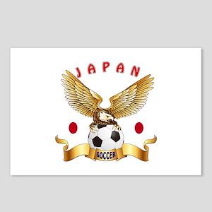 Japan Football Design Postcards (Package of 8)