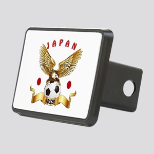 Japan Football Design Rectangular Hitch Cover