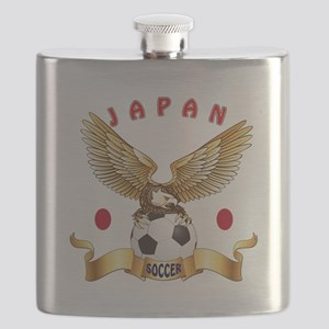 Japan Football Design Flask