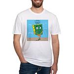 Scrungepad Nopants Fitted T-Shirt