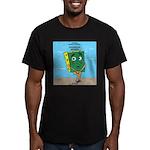 Scrungepad Nopants Men's Fitted T-Shirt (dark)