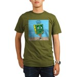 Scrungepad Nopants Organic Men's T-Shirt (dark)