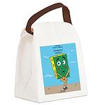 Scrungepad Nopants Canvas Lunch Bag