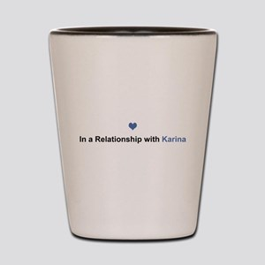 Karina Relationship Shot Glass