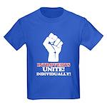 Introverts Unite Kids Dark T-Shirt