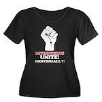 Introverts Unite Women's Plus Size Scoop Neck Dark