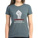 Introverts Unite Women's Dark T-Shirt