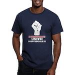 Introverts Unite Men's Fitted T-Shirt (dark)