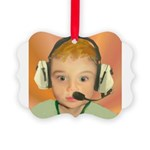 babyCeltic Picture Ornament