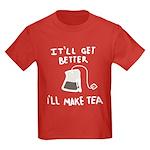 Ill Make Tea Kids Dark T-Shirt
