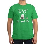 Ill Make Tea Men's Fitted T-Shirt (dark)