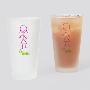 Noemi-cute-stick-girl Drinking Glass