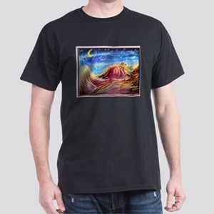 Landscape! Desert night! art, Dark T-Shirt