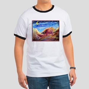 Landscape! Desert night! art, Ringer T
