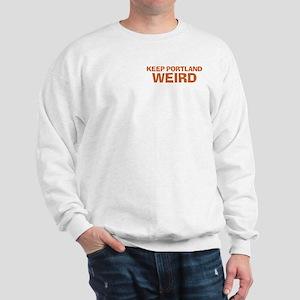 Keep Portland Weird - Orange Sweatshirt