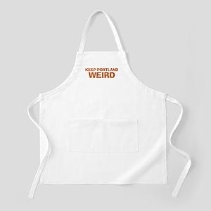 Keep Portland Weird - Orange Apron