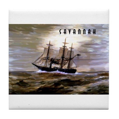 Savannah Tile Coaster