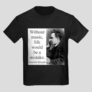 Without Music - Nietzsche T-Shirt