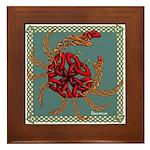 Celtic Crab Framed Tile