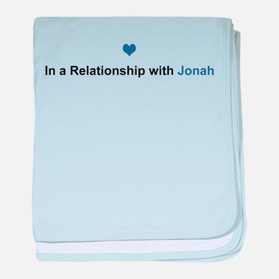 Jonah Relationship baby blanket