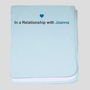 Joanna Relationship baby blanket