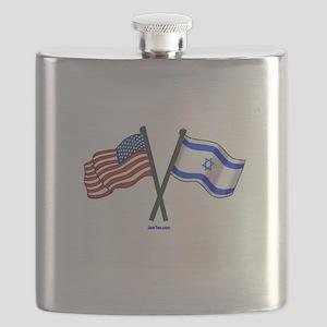 American Israel Friendship Flask