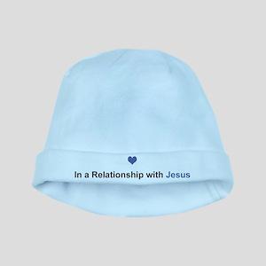 Jesus Relationship baby hat