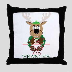 Prancer Throw Pillow