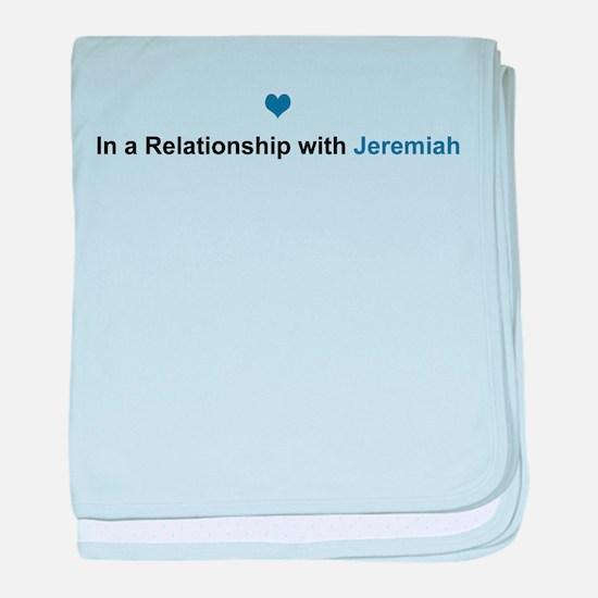 Jeremiah Relationship baby blanket
