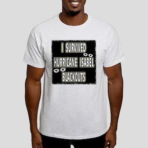 Isabel Blackouts Ash Grey T-Shirt
