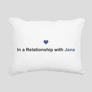 Jana Relationship Rectangular Canvas Pillow