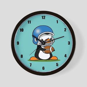 Grid Iron Popo (B) Wall Clock