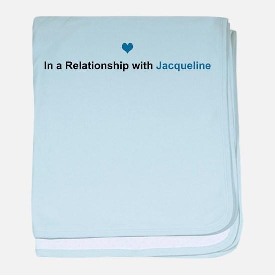 Jacqueline Relationship baby blanket