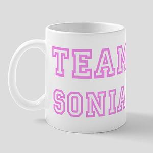 Pink team Sonia Mug
