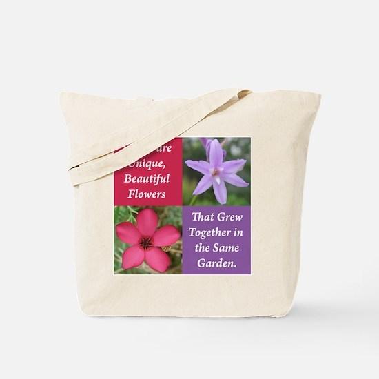 Flower_4Square_PinkPurple.png Tote Bag