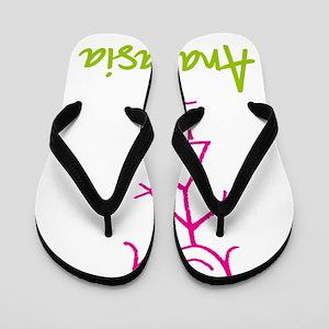 Anastasia-cute-stick-girl Flip Flops