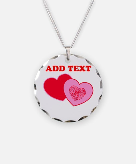 Valentine's Day Hearts Necklace