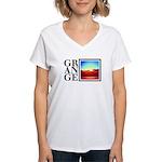 Grange SA summer Women's V-Neck T-Shirt