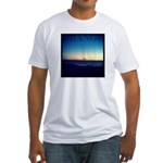 Grange beach Fitted T-Shirt