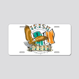 Irish Rebel Gear Ireland Aluminum License Plate